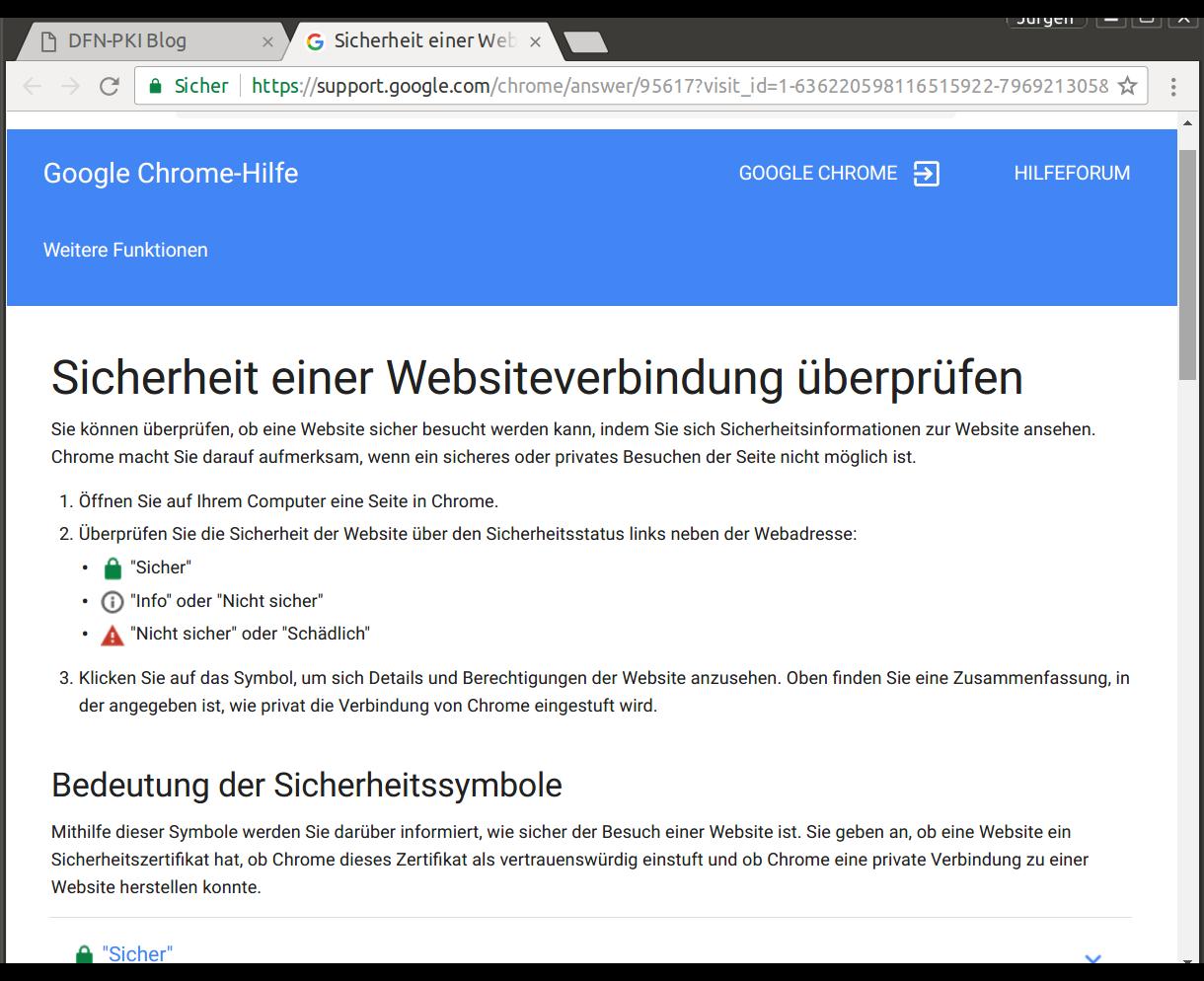 Chrome Dfn Pki Blog
